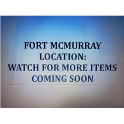 """1ST LOCATION """"FORT MCMURRAY"""" @ STREAMLINE MECHANICAL"""