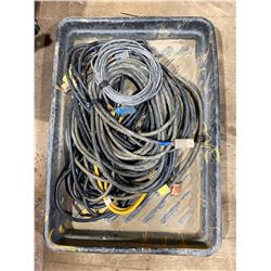 """FT.MAC: 30"""" x 40"""" SPILL TRAY & 7 EXTENSION CORDS"""