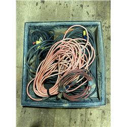 """FT.MAC: 30"""" x 32"""" SPILL TRAY & 6 EXTENSION CORDS"""