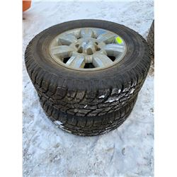 FT.MAC: PAIR OF WILD COUNTRY RADIAL XTX TIRE & FORD