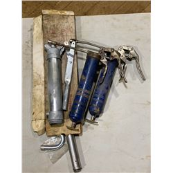 FT.MAC: ASSORTED BARREL PUMP & GREASE GUNS