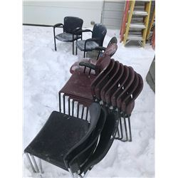 FT.MAC: GROUP OF ASSORTED CHAIRS
