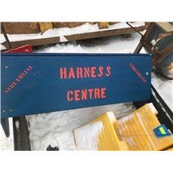 FT.MAC: HARNESS HANGER & SHELF WOODEN CONSTRUCTION
