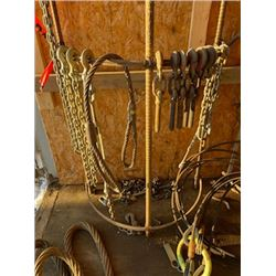 FT.MAC: ASSORTED RIGGING, (INCLUDED ARE ITEMS ON