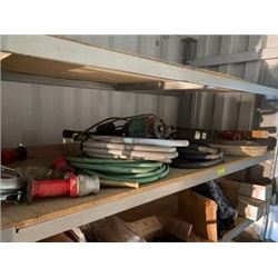 FT.MAC: LOT OF ASSORTED SUBMERSIBLE PUMPS AND HOSE