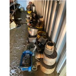 FT.MAC: ASSORTED LAY-FLAT HOSE, CAM LOCK FITTINGS,