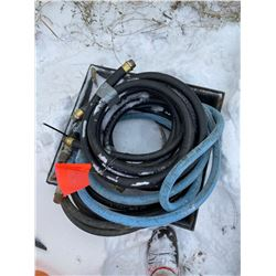 FT.MAC: ASSORTED NEW & USED FUEL HOSE, VARIOUS