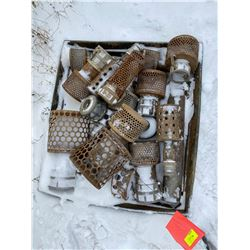 FT.MAC: ASSORTED CAM LOCK STRAINERS OF VARIOUS