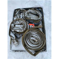 FT.MAC: ASSORTED LAY-FLAT HOSE, VARIOUS SIZES AND