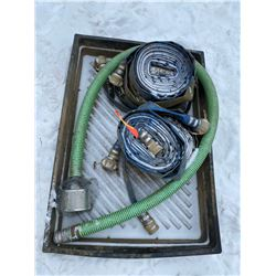 FT.MAC: ASSORTED LAY-FLAT AND SUCTION HOSES