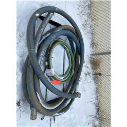 FT.MAC: ASSORTED SUCTION HOSES, VARIOUS LENGTHS