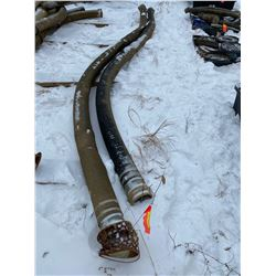 FT.MAC: LOT OF 2 LENGTHS OF 20FT HYDROVAC HOSE