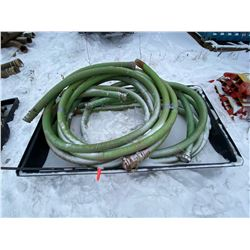 """FT.MAC: ASSORTED 3"""" SUCTION HOSES, VARIOUS LENGTHS"""