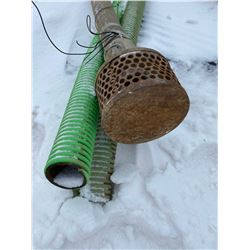 FT.MAC: LOT OF 3 SUCTION HOSE, 2IN X 20FT LONG