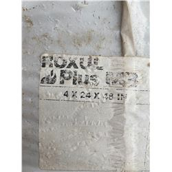 FT.MAC: 6 BAGS OF ROXUL FIRE / WATER RESISTANT