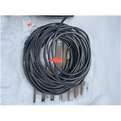FT.MAC: LENGTH OF 6 AWG 3 CONDUCTOR TECK CABLE