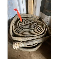FT.MAC: LOT OF 2 LAY-FLAT HOSE, 2IN X 50FT