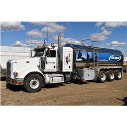 SH.PRK: 2013 PETERBILT TRI-DRIVE WATER TRUCK
