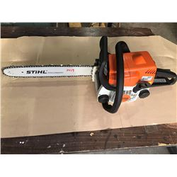 SH. PARK: STIHL MS170 GAS CHAINSAW WITH CASE