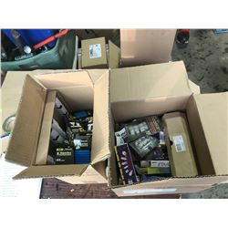 SH. PARK:  2 BOXES OF ASSORTED LIGHT BULBS, VARIOUS