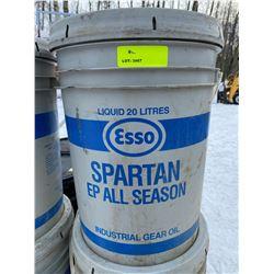 SH. PRK: TWO 20L PAILS OF ESSO SPARTAN EP AS