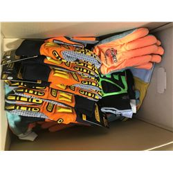 SH. PARK: 1 BOX OF ASSORTED WORK GLOVES