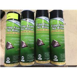 SH. PARK: 4 CANS OF EVAP FOAM EVAPORATOR COIL