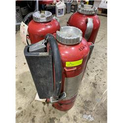 SH. PRK:  LOT OF THREE 30LB FIRE EXTINGUISHERS