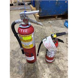 SH. PRK: 2 FIRE EXTINGUISHERS (10LB & 5LB)
