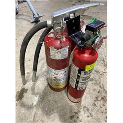 SH. PARK: LOT OF THREE 5LB FIRE EXTINGUISHERS