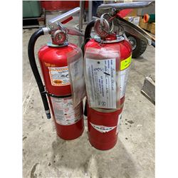 SH. PARK: LOT OF TWO 10LB FIRE EXTINGUISHERS
