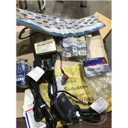 SH. PARK: ASSORTED AUTOMOTIVE HARNESSES AND PARTS