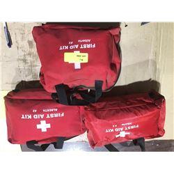 SH. PARK: LOT OF 3 ALBERTA #2 FIRST AID KITS