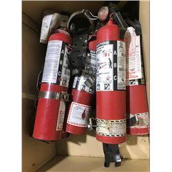 SH. PARK: ASSORTED 2-1/2LB FIRE EXTINGUISHERS