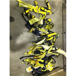 SH. PARK: LOT OF 5 SAFETY FULL BODY HARNESS