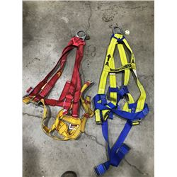 SH. PARK: LOT OF 2 VEST STYLE POSITIONING HARNESSES