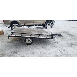 STURG.CNTY: 2006 UTILITY / ATV TRAILER 8 X 8 FLAT, TILTING DEC