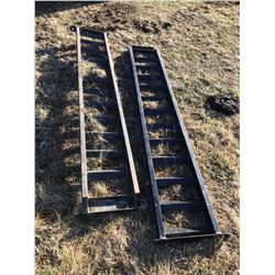 STURG.CNTY: LOT OF 2 STEEL LOADING RAMPS