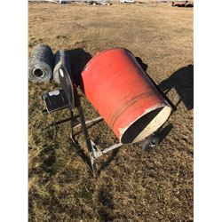 STURG.CNTY: CEMENT MIXER - ELECTRIC - 120 VOLT