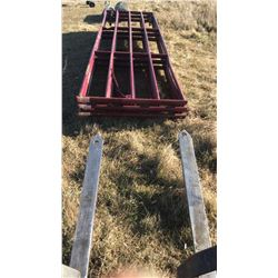 STURG.CNTY:  LOT OF 6 METAL LIVESTOCK GATES