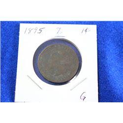 Cda One Cent Coin (1) - 1895, G