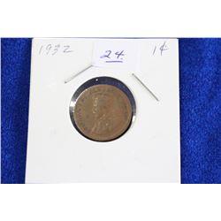 Cda One Cent Coin (1) - 1932