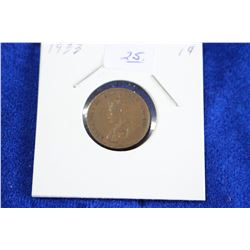 Cda One Cent Coin (1) - 1933