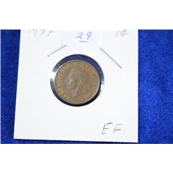 Cda One Cent Coin (1) - 1947, EF