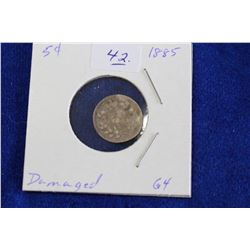 Cda Five Cent Coin (1) - 1885