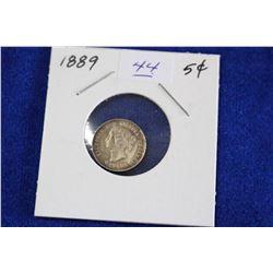 Cda Five Cent Coin (1) - 1889