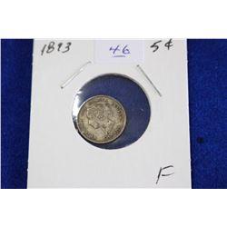 Cda Five Cent Coin (1) - 1893, F