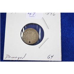 Cda Five Cent Coin (1) - 1896, G4
