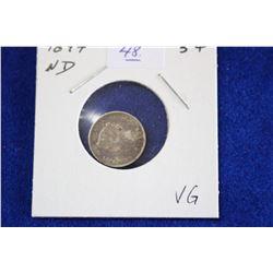 Cda Five Cent Coin (1) - 1897, VG, ND