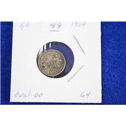 Cda Five Cent Coin (1) - 1900, G4